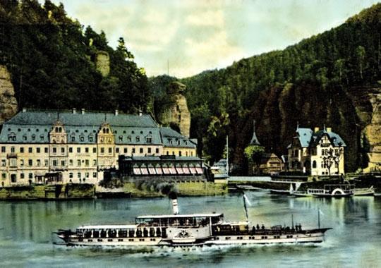 Über Hřensko - Geschichte